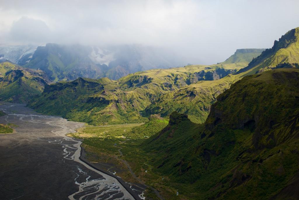 Porsmork Iceland