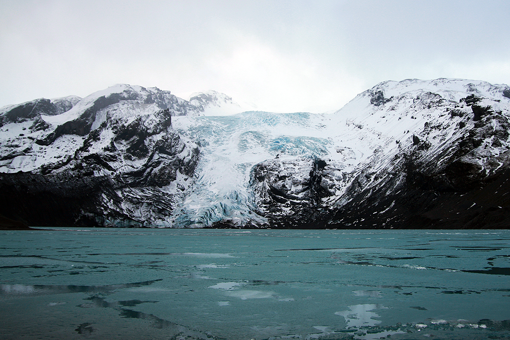 Eyjafjallajokull Glacier Iceland