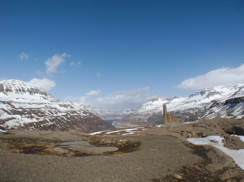 Fjardarheidi Pass Iceland