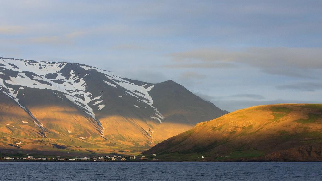Eyjafjordur Fjord