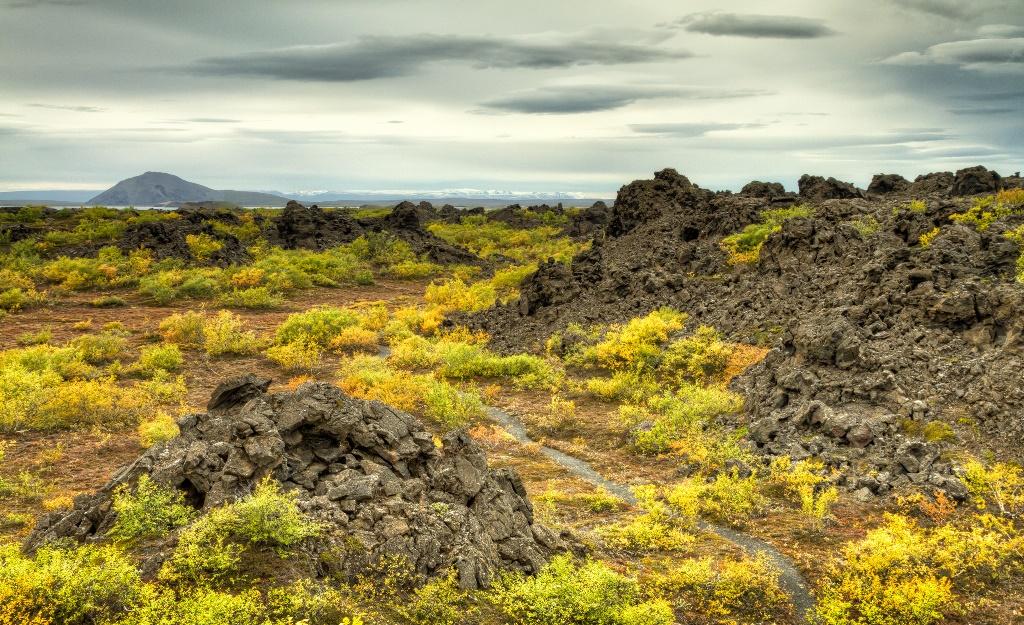 Dimmuborgir Lava Fields